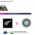 First Match in ICC World Twenty20, India Vs New Zealand will be previewed in Nagpur