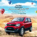 Mahindra's Quanto Facelift Renamed as 'Nuvosport; Launching on April 4th