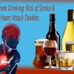 Doubling of Stroke Risks and Heart Attack after Consumption of Moderate Alcohol: New Study