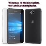 Windows 10 Mobile update for Lumia smartphones to arrive in coming week