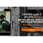 Micromax Canvas Spark 3 with 5.5 inches display launched at Rs 4999 in India