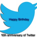 10th Anniversary of Twitter on today, march 21st