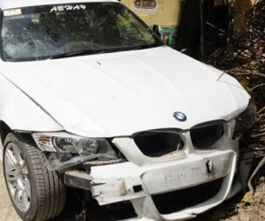 BMW Hit and run case noida