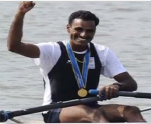 Indian Rower Dattu Bhokanal