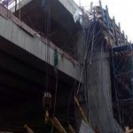 2 Workers in the Lucknow  Metro Construction work receives injuries in an accident