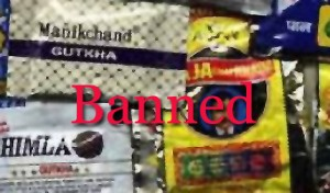 tobacco banned
