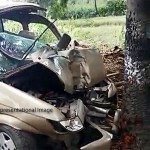 Car driven by Minor- Driver kills elderly woman and injures Two girl children in Pune