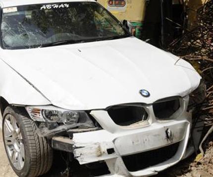 BMW Hit and run case noida