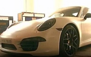 Porsche was being driven by the son of Chowdary