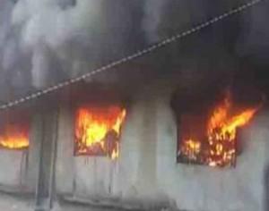 fire in Bhiwandi building