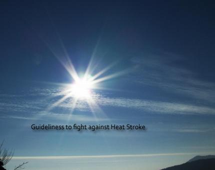 heat stroke guideliness