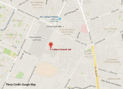 lahore central jail