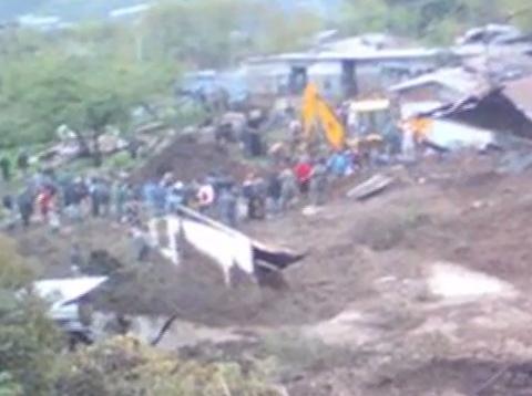 lanadslide in Arunachal Pradesh