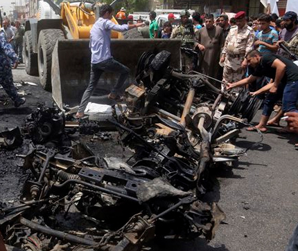 Baghdad Car Bomb Blasts