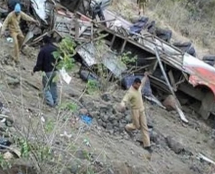 Bus accident Himachal