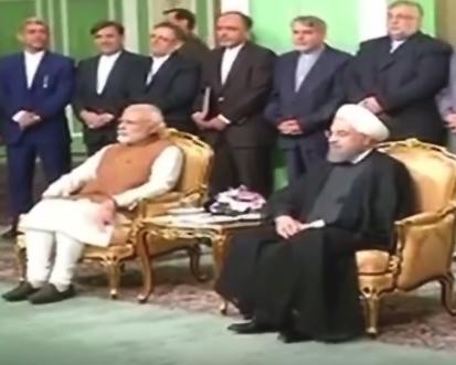 Modi in Iran