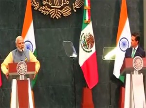 narendra Modi in mexico